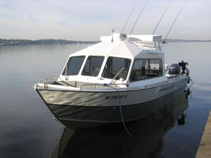 Saltwater river fishing charter boat trips seattle wa for Seattle washington fishing charters