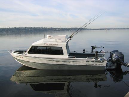 Saltwater River Fishing Charter Boat Trips Seattle Wa