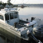 River Fishing Charter Boat