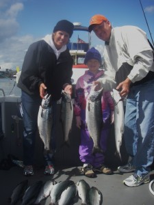 Family Fishing Trips near Seattle - Tyee Charters
