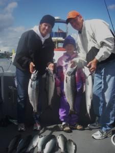 Family Fishing Trips near Seattle - Tyee Charters