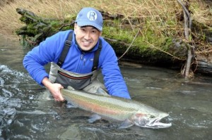 Steelhead Fishing in the Olympic Peninsula